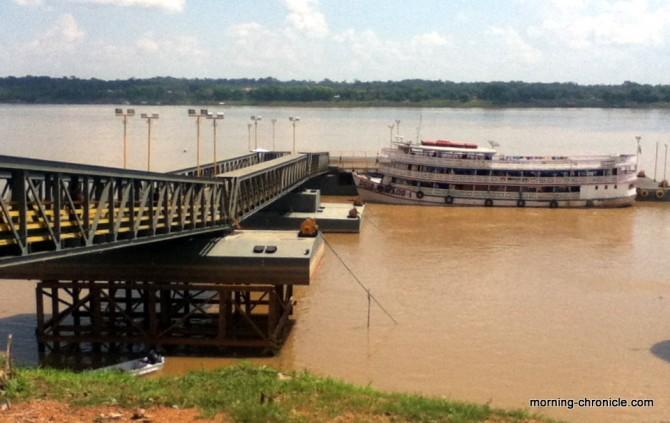 Départ pour Manaus