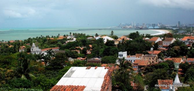 Vue sur Olinda et Recife