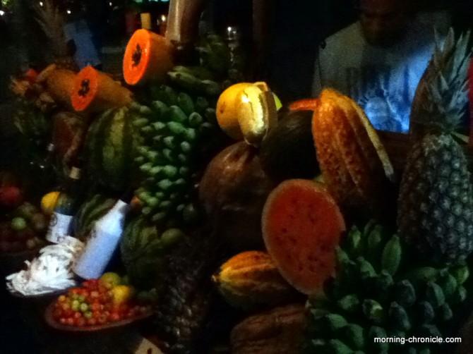 Stand de caïpifrutas
